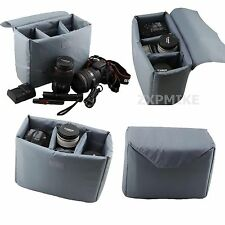 Partition Rembourré Insert Protection Camera Case pour Nikon D90 D3100 D5100 D300s