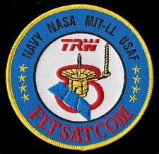 TRW FLTSATCOM 8 - ATLAS-G CENTAUR D1AR NASA MIT NAVY USAF DOD SATELLITE  PATCH