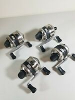 Vintage Zebco Reel Lot 733 The Hawg & 33 Metal Spincast Fishing Reels 4