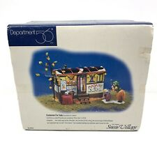 Dept 56 Halloween Snow Village ~ Costumes For Sale 56.54973 Exc Condition W/ Box