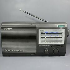 Sony ICF-34 Portable Radio 4 Band AM / FM / Weather / TV - Excellent Condition