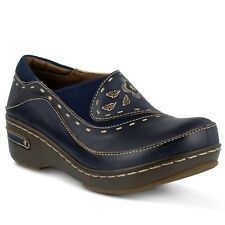 L'artiste by Spring Step Women's Burbank 40 M Navy Leather