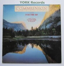 COMMUNION CONTINUES - VOLUME III - Excellent Con LP Record Birdwing WING 519