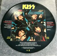 """KISS - Crazy Crazy Nights - 1987 UK limited edition 4-track 12"""" Picture Disc EP"""