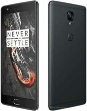 OnePlus 3T A3003 6GB & 128GB Midnight Black Limited Ed. Unlocked Dual SIM UK/EU