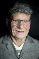 """""""Marvin"""" Silicone Mask Old Man  Halloween Hand Made Realistic High Quality,"""
