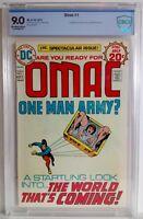 Omac #1 CBCS 9.0 1974 Jack Kirby Mike Royer 1st App & Origin Omac: One Man Army