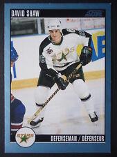 NHL 183 David Shaw Minnesota North Stars SCORE 1992/93
