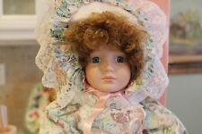 """Cynthia W/Baby & Carriage"" Porcelain doll by Marian Yu, Set of 3"