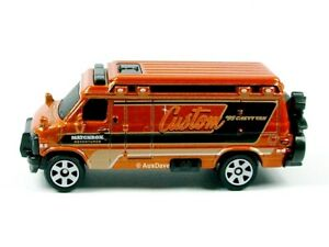 MATCHBOX / Custom 1995 Chevy Van (Metallic Brown) / No packaging.