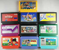 Nintendo Famicom 10 Games Bundle-Super Mario 3, Top Gun, Tetris etc-Japan Import