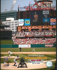Busch Stadium First Pitch St. Louis Cardinals 8x10 Photo With Toploader
