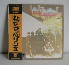 Led Zeppelin II no. 2 JAPAN LP +Giant Poster+ Insert NMINT