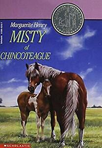Misty of Chincoteague Paperback Marguerite and Wesley Dennis Henr