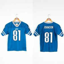 KIDS BOYS YOUTHS DETROIT LIONS NFL JERSEY AMERICAN FOOTBALL SHIRT 10 - 12 YEARS