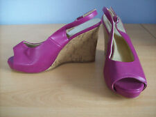 Shoes Ladies Lilac Purple High Block Heel Shoes Fiore Collection UK Size 5 New