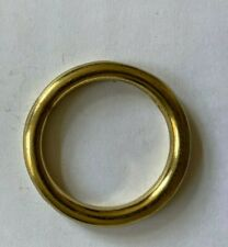 2 pcs O rings buckle Brass 40mm components