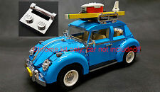 Custom Chrome LEGO kit, LEGO 10252 Volkswagen Beetle (10252 set is not included)