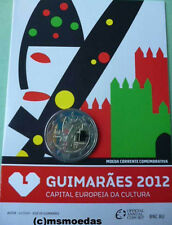 Portugal 2 Euro Gedenkmünze 2012 Guimaraes coin Offizielle Coincard Münzkarte BU