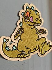 """Raptar Embroidered Iron/Sew ON Patch 4.5"""" x 4.50"""" Cartoon Rugrats"""