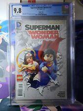 Superman/Wonder Woman #13 CGC 9.8 Lego Variant Cover 2015 The New 52 DC COMICS