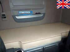 S'adapte Nouveau DAF XF 106 Camion Eco Cuir Lit Couverture-Beige camions accesso...