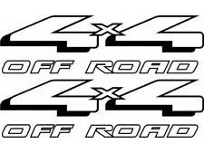 4x4 OFF ROAD BEDSIDE DECALS - FORD STYLE - YOUR CHOICE OF COLOR