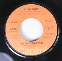 Country 45 Glen Campbell - Lovelight / Rhinestone Cowboy On Capitol 2
