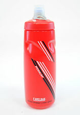CAMELBAK PODIUM BICYCLE BIKE CYCLING WATER BOTTLE 24oz BPA FREE, Red