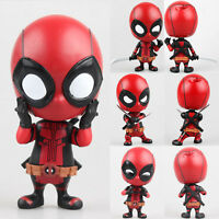 Marvel The Avengers Deadpool Bobble-Head Shake Head Doll Action Figure Kid Toy