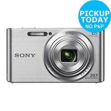 Sony Cybershot W830 20MP 720p 8x Zoom Compact Digital Camera - Silver - Argos