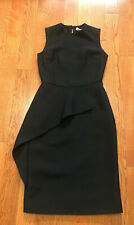 100% Authentic Christian dior Cocktail Black Dress Size 36 / US 4