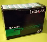 Lexmark 12A7612 Black High Yield Toner Cartridge OEM T630 T632 T634 X630 #1
