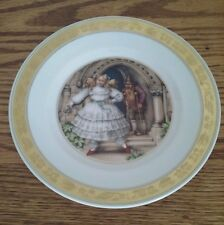 """Hans Christian Anderson Plate """"The Red Shoes"""" 7.25"""" Royal Copenhagen"""