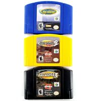 Tony Hawk's Pro Skater 1 2 3 (Nintendo 64) Lot Of 3 Authentic Tested & Works
