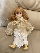 Antique Doll German 1920s 1930s Ernst Heubach 1900-9/09 Dressed Tambour Lace