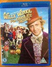 WILLY WONKA AND THE CHOCOLATE FACTORY (Blu-ray) Gene Wilder