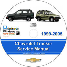 Chevrolet Tracker 1999 2000 2001 2002 2003 2004 2005 Service Repair Manual