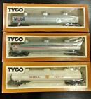 Tyco HO Scale Train/  Fuel Tanker, Mobil, Gulf, Shell, Vintage , Lot