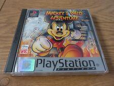 Disney Mickey's Wild Adventure Platinum Game for Sony PlayStation PS1 PAL Region