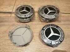 1pcs Centre de Roue Cache Moyeu 75mm Noir Mercedes Classe A B C E V R Vito Viano