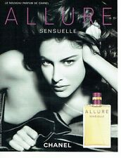 Publicité Advertising 037  2006   Chanel  parfum Allure Sensuelle