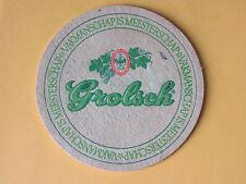 Grolsch Bierbrouwerij Brewery BEER MAT COASTER BREWERIANA