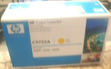 Genuine HP C9722A Yellow Laserjet Toner Cartridge OEM