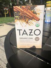 TAZO Tea Organic Chai Flavor 20 Tea Bags New In Box