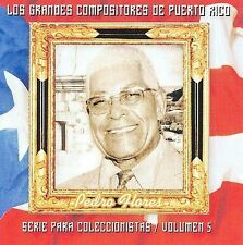 New: Flores, Pedro: Grandes Compositores De Puerto Rico 5  Audio CD