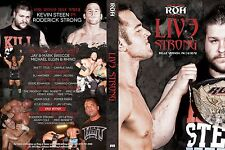 Official ROH Ring of Honor LIve Strong 2012 Event DVD