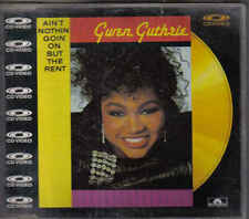 Gwen Guthrie-Aint Nothin Goin On But The Rent cd video maxi single