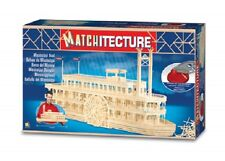 Matchitecture 6630 Mississippi River Boat Matchstick Model Kit Free Tracked Pst
