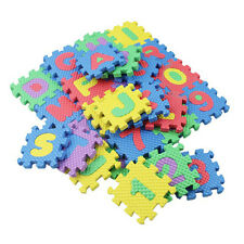 Baby Home Foam Play Mat Alphabet Letters Numbers Puzzle Jigsaw Pad Kids Toys